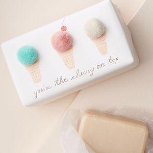Anthropologie George & Viv Ice Cream Bar Soap Nice